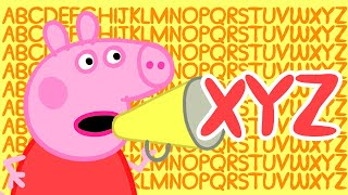 Peppa Pig 🔠 Letter XYZ | Learn the Alphabet with Peppa Pig | ABC Letter Boxes | Learn with Peppa Pig