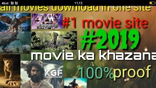 📽#2019 best movie download sites Hollywood Bollywood south Tamil Telugu all movies download in1080p