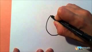 Como desenhar notas musicais coloridas