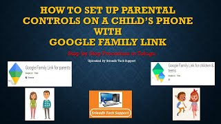 Protect Your Child from Smartphone   Google Family Link App   in Telugu   Parental Control screenshot 4