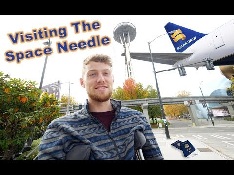 My Journey To Iceland | Visiting The Space Needle