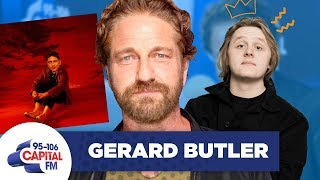 Gerard Butler Covers Lewis Capaldi's 'Hold Me While You Wait' 🎶 | FULL INTERVIEW | Capital Video
