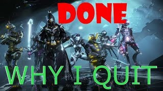 5 Reasons Why I Quit Warframe
