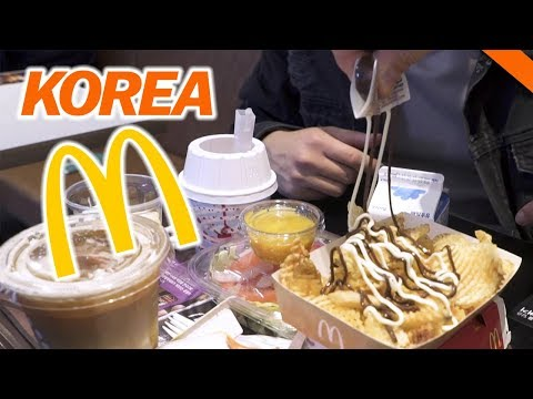 EATING AT KOREAN McDONALD'S IN SEOUL // Fung Bros World Tour