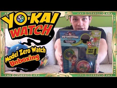 Yo-Kai Watch Season 2 - Unboxing Yo-Kai Watch Model Zero, Yo-Motion Medallium, & Medal Pages!