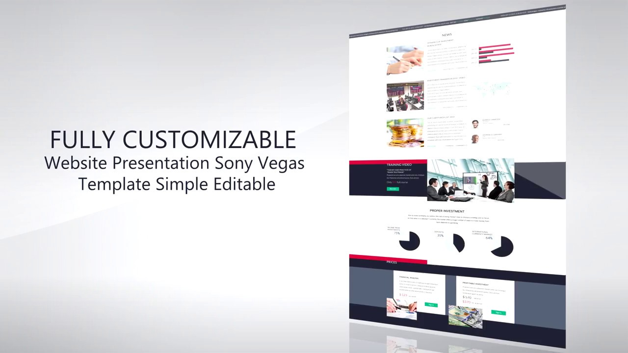 promo template