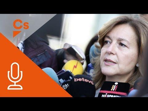 Carina Mejías. Declaraciones tras visitar el Smart Cities Expo en Barcelona