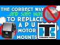 Thermo King Tripac: Engine Mount Replacement