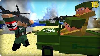 Вторая Мировая Война [ЧАСТЬ 15] Call of duty в Майнкрафт! - (Minecraft - Сериал)