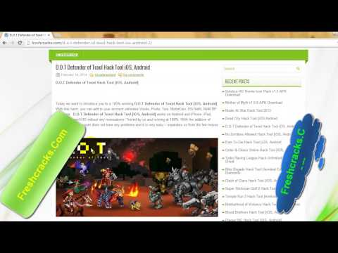 D.O.T Defender Of Texel Hack Tool IOS, Android