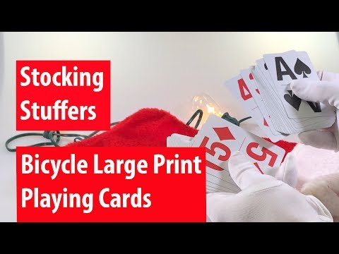 Episode 22: Stocking Stuffers: Large Print Playing Cards