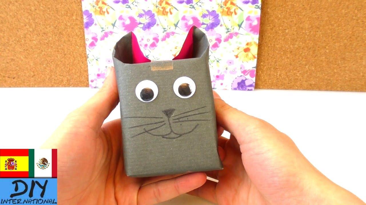 Envoltura de regalo original en forma de gato youtube for Regalos originales decoracion