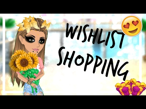 Wishlist shopping! Andriala Msp