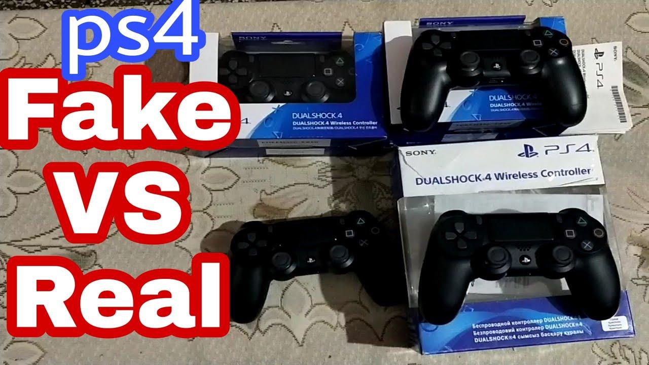 Ps4 controller Fake vs Real HINDI  - YouTube