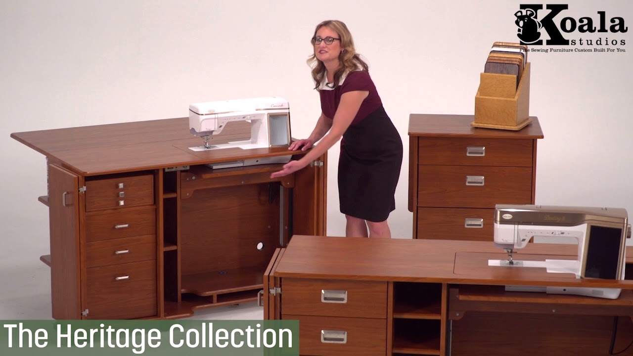 Koala Studios 3 Collections Custom Sewing Cabinets Youtube