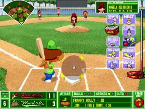 Backyard Baseball (1997) (VG) Video Game