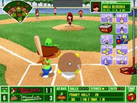Backyard Baseball (1997) (VG) Video Game