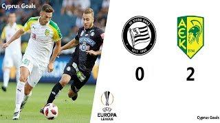 SK STRUM GRAZ VS AEK LARNACA UEFA EUROPA LEAGUE QUALIFICATION FULL HIGHLIGHTS