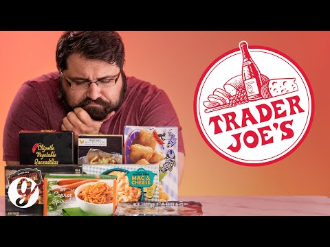 Tasting Trader Joe's Best and Worst Frozen Meals | GRATEFUL