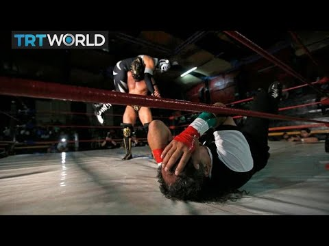 Mexico's Little Wrestlers: Wrestlers try to change perceptio