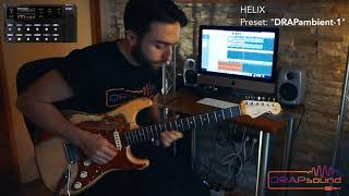 "Preset: ""DRAPambient-1"" for HELIX (isolated track)"