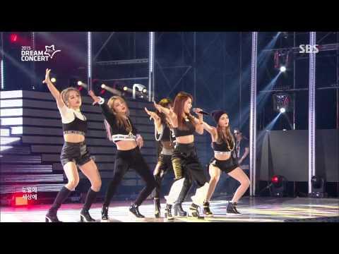 [20150531] 4MINUTE (포미닛) _ 미쳐 (Crazy) [SBS 2015 Dream Concert] [Live] [HD]