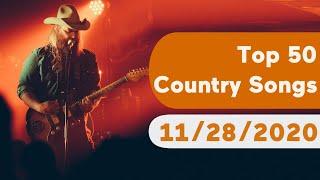 US Top 50 Country Songs (November 28, 2020)