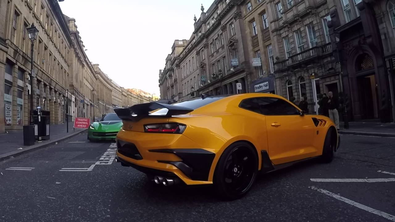 transformers 5 the last knight on set with cast and cars in newcastle bumblebee and autobots. Black Bedroom Furniture Sets. Home Design Ideas