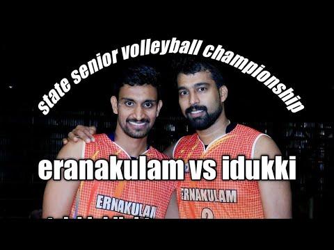 Ernakulam Vs idukki senior Kerala state volleyball championship