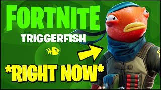 *NEW* FORTNITE FISHING EVENT *RIGHT NOW* - ALL FREE REWARDS & CHALLENGES (TRIGGERFISH SKIN)