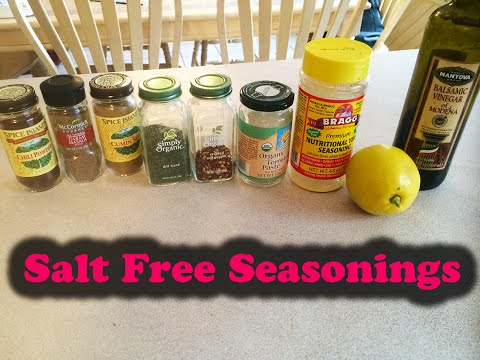 My Favorite Salt Free Seasonings