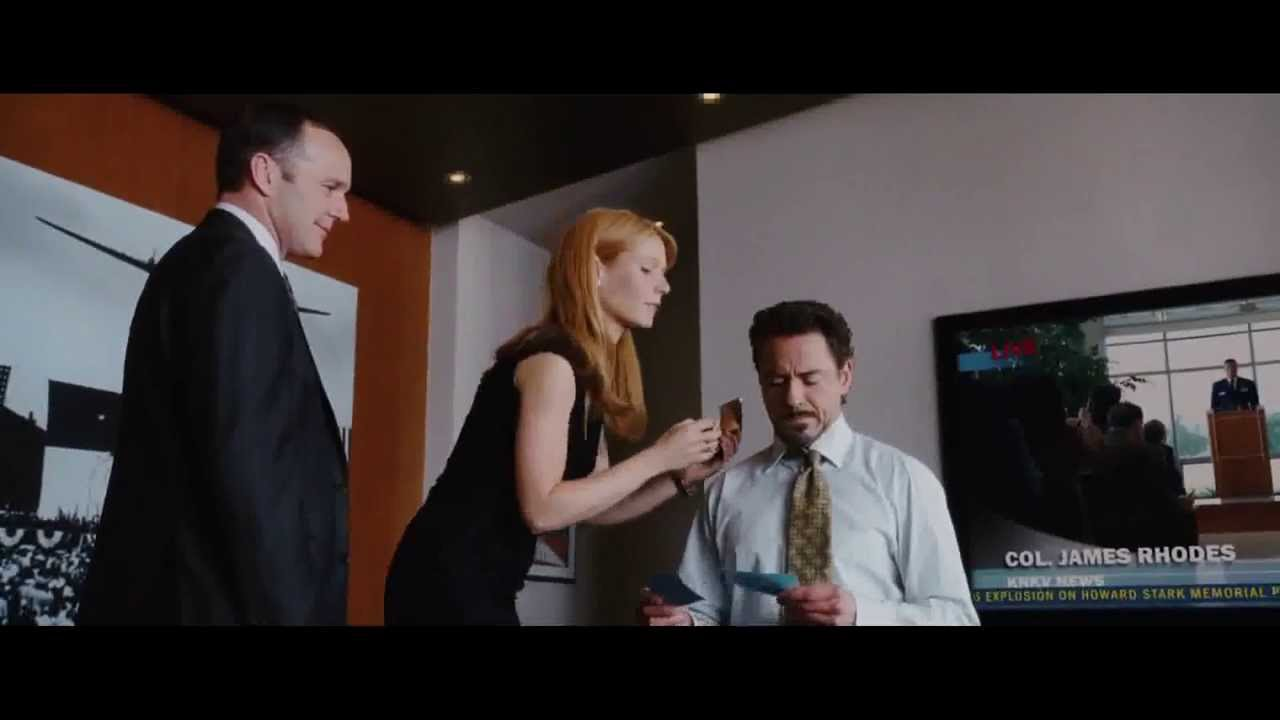 Iron man 2008 agent coulson clips youtube for Domon man 2008