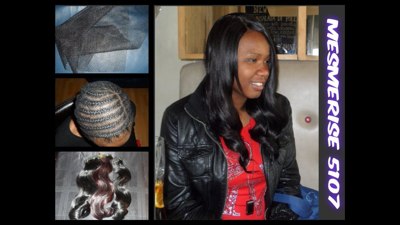 Net Weave Sew In With Closure Youtube