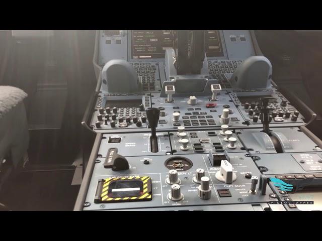 A tour of Airbus A350-900 cockpit