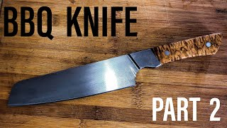 Knifemaking: BBQ knife |PART 2|