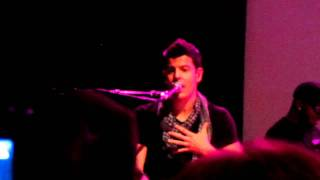 "Jordan Knight ""I Wish"" Detroit Michigan 11/12/11"