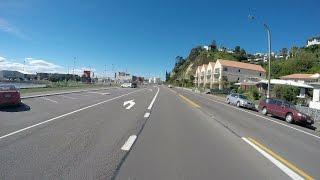 Riding around Napier (Westshore, Ahuriri, Napier Port)