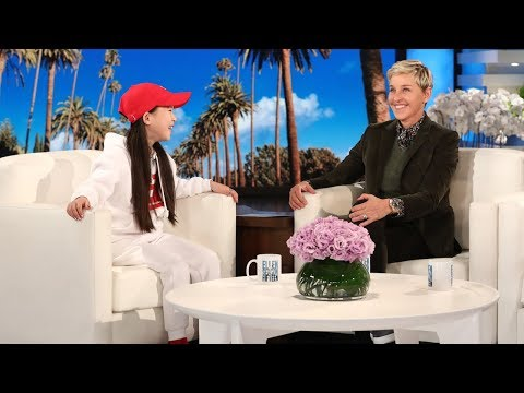 Young Hip Hop Dancer Amy Shows Ellen Her Moves