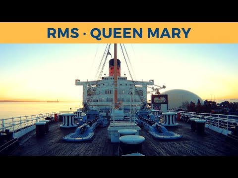 Walking on the QUEEN MARY