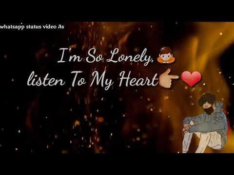 I Am So Lonely Broken Angel | Whatsapp status Video
