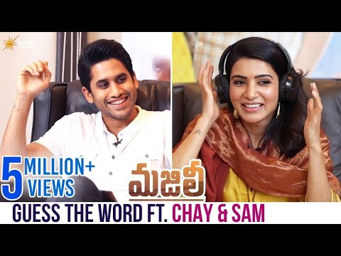Guess The Word Ft. Naga Chaitanya and Samantha   Majili Telugu Movie   Divyansha   Shine Screens