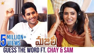 Guess The Word Ft. Naga Chaitanya and Samantha | Majili Telugu Movie | Divyansha | Shine Screens