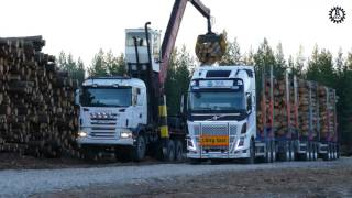 Loading of the FH16-750 One More Pile project (ETT) En Trave Till