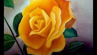 Como pintar uma rosa com Silvio Zatti