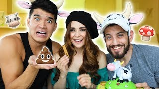WE PLAYED FARTY FRANNY! ft Alex Wassabi & Josh Elkin