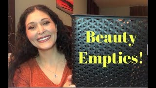 Beauty Empties!   Body, Skin Care, Hair Care, & Makeup!