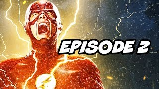 The Flash Season 6 Episode 2 - Crisis On Infinite Earths Teaser Easter Eggs
