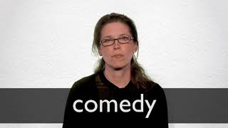 How to pronounce COMEDY in British English