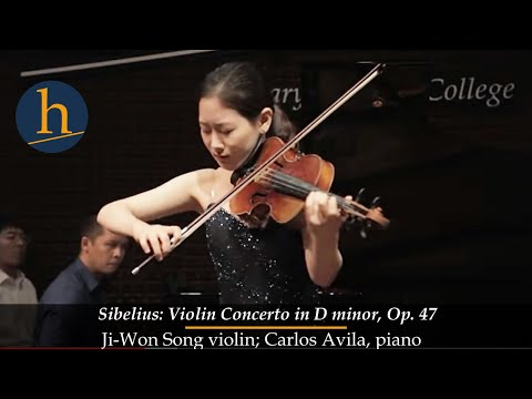 Heifetz 2015:  Ji-Won Song & Carlos Avila | Sibelius: Violin Concerto