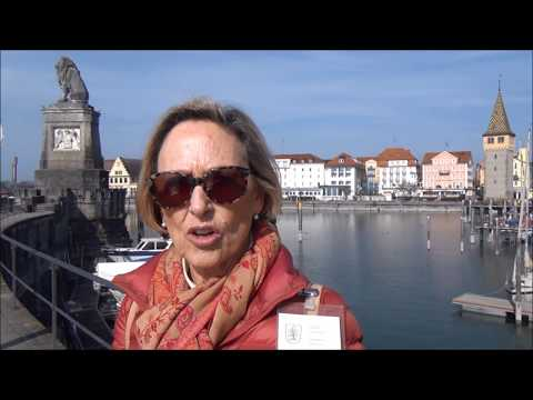 Guided tour of Lindau, Germany